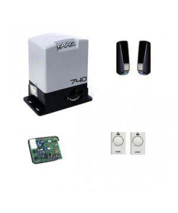Faac 740 KIT комплект автоматики для откатных ворот