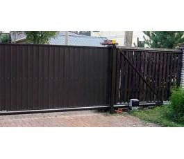 Came BX608 TW DIR10 комплект автоматики для откатных ворот