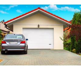 Секционные гаражные ворота Alutech Trend 2500x2125 с автоматикой Marantec